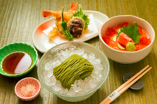 Hong-kong-food-Sagano-cold-noodle-set-lunch-new-world-millenium-hotel