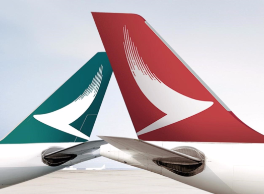 Cathay Pacific Airways and Dragon Cathay Airways are members of Marco Polo and Asia Miles.frequent flyer programmes.