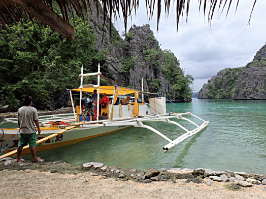 image-of-catamaran-in-coron-palawan-philippines