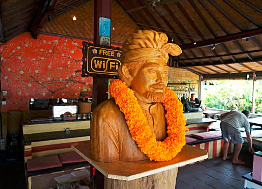 Bali ubud nomad restaurant