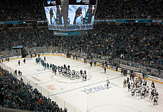 NHL_San_Jose_Sharks_and_Pittsburgh_Penguins_shaking_hands_credit_Guy-Kawasaki