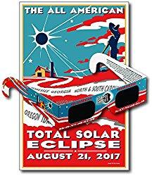 Solar glasses poster