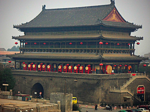 image-of-xi-an-drum-tower-by-wikimedia-commons