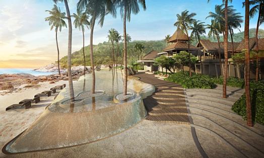 Thailand-koh-samui-hotel-ritz-carlson-beachfront