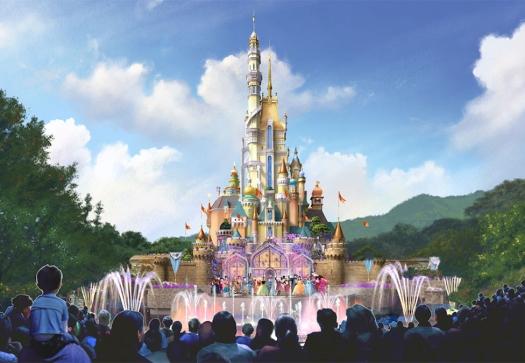 hkg-disneyhland-castel-transformationNew-hong-kong-dl-castle